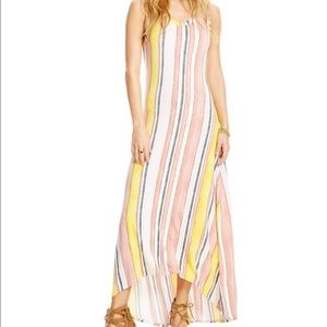 Jessica Simpson Striped Jayla Maxi Dress